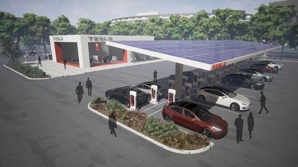 特斯拉美国充电站数量将翻倍 为Model3铺路
