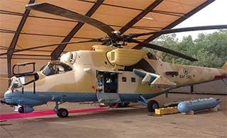 尼日利亚也装备这款武装直升机