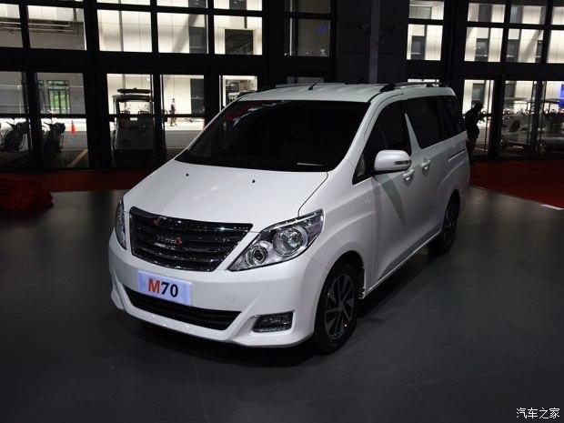 M70/T60/新款T70等 野马汽车新产品规划