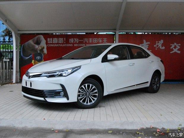换代卡罗拉/RAV4荣放 一汽丰田新车计划