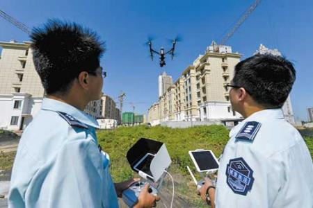 重点工程周边违建集中拆除 城管将启用无人机执法取证