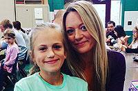 美10岁女孩患罕见疾病脸部塌陷