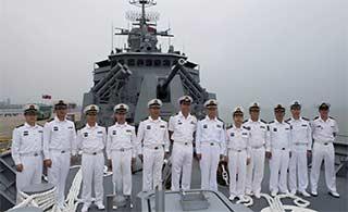 澳军舰访华 中国海军参观澳舰