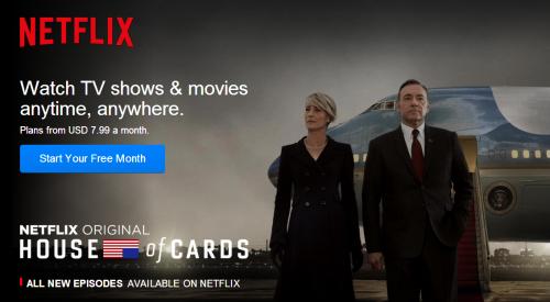 美国视频网站Netflix将进军中国 加快争取新用户