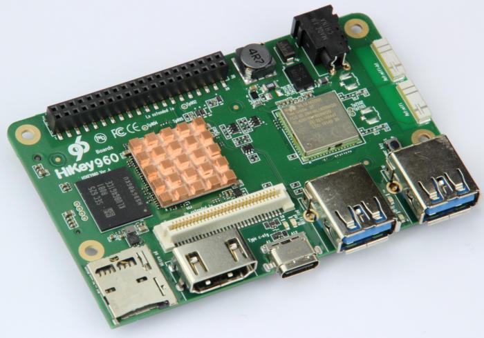 华为最新HiKey 960开发板可超高速运行安卓系统