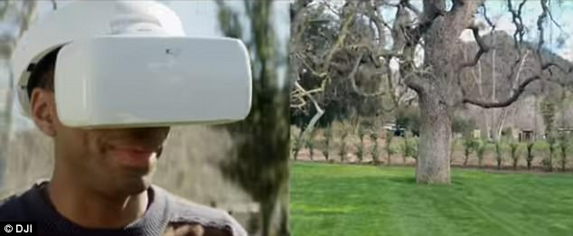 大疆发布无人机飞行眼镜 体验高空鸟瞰世界
