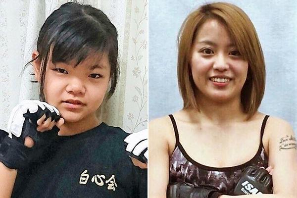 12岁日本女孩将与24岁拳手进行综合格斗
