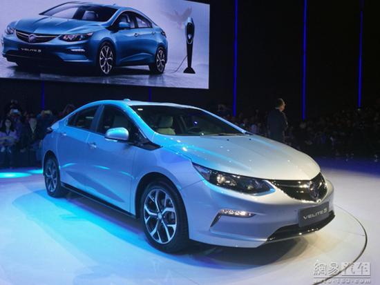 通用拟2020年前在华发布10款电动车 全部国产