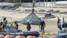 日本为冲绳美军新基地圈海筑堤