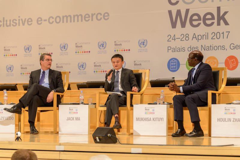 联合国贸发会议秘书长:十个非洲国家总统在等马云