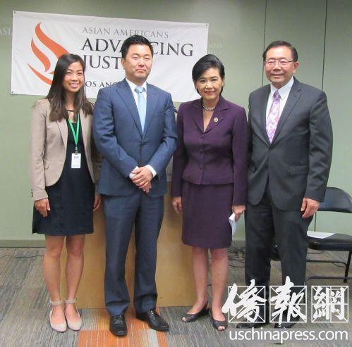 赵美心认为美移民政策前景不乐观 促亚裔尽快入籍