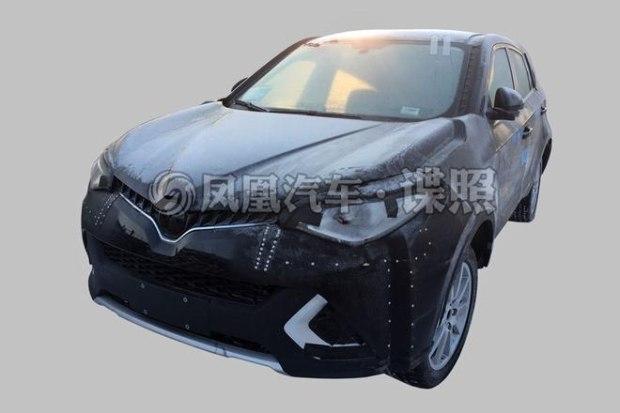 基于新平台打造 MG全新纯电动SUV谍照