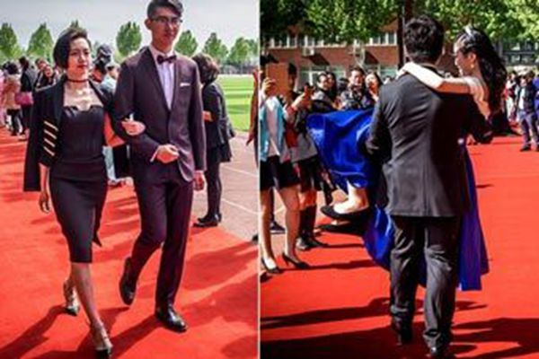 北京某国际学校成人礼现场