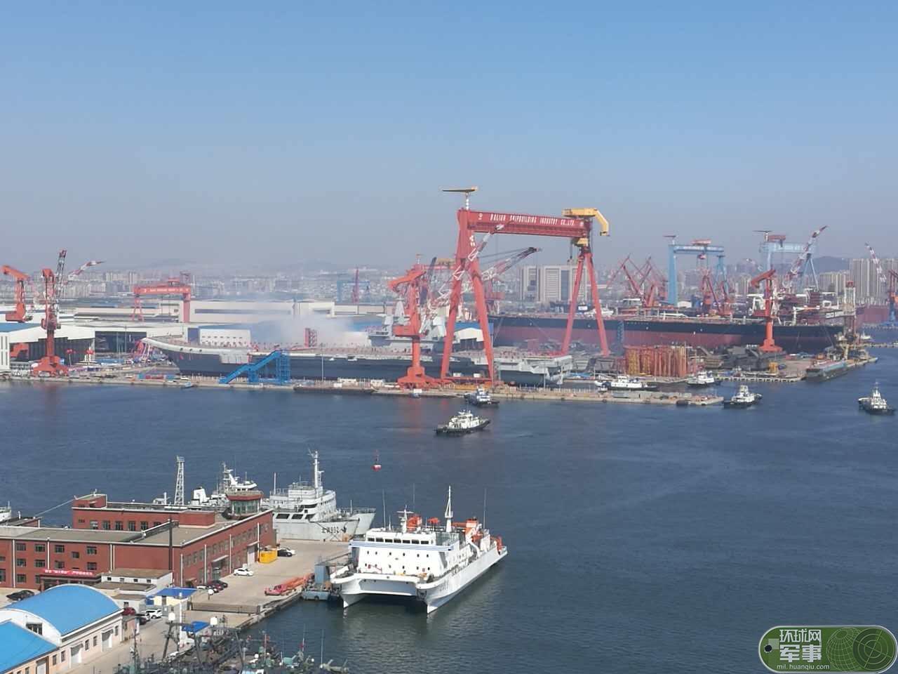 中国航母下水日网友冒酸水:日本80年前造了很多
