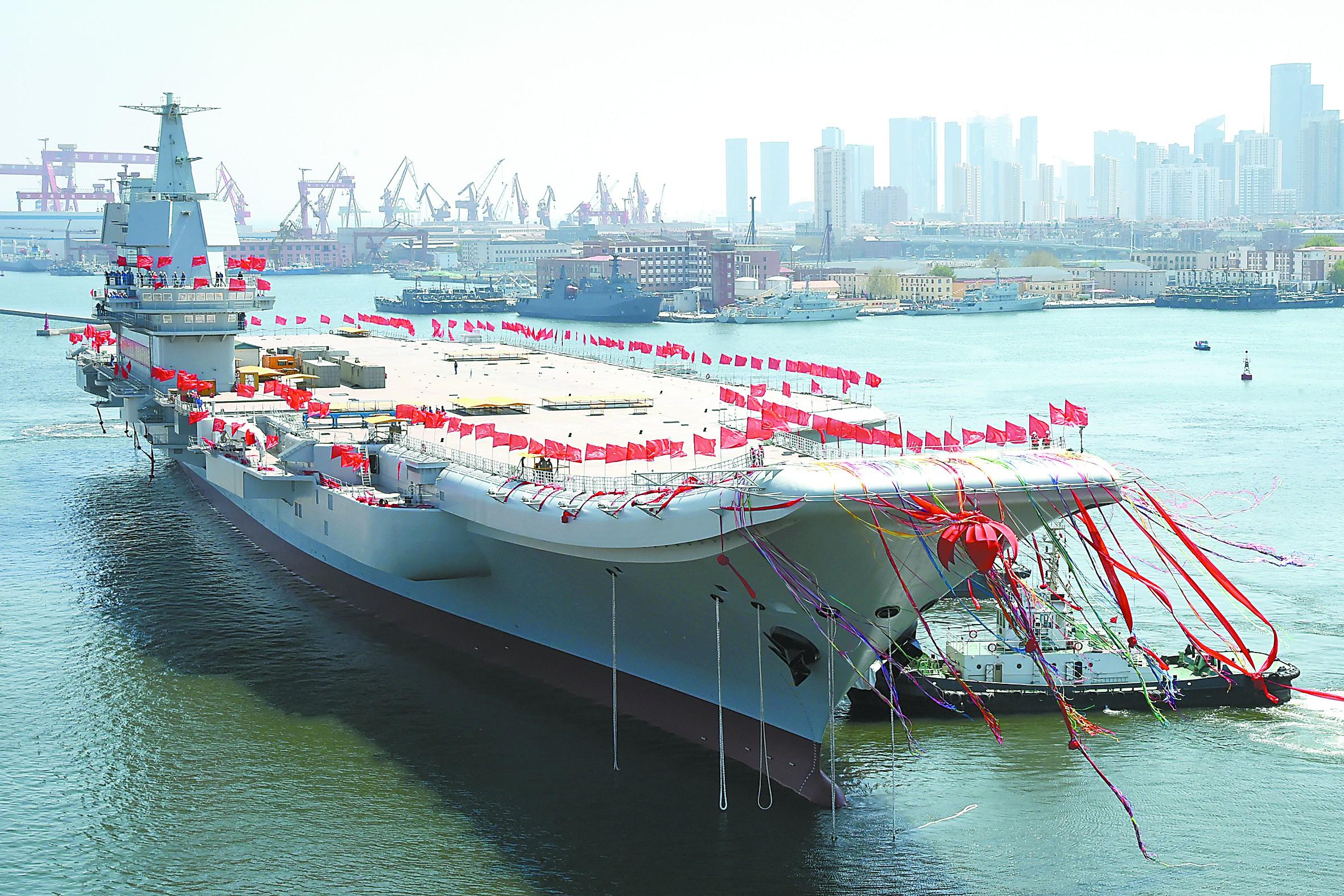 中国海军发出最强音:我国完全掌握航母相关技术