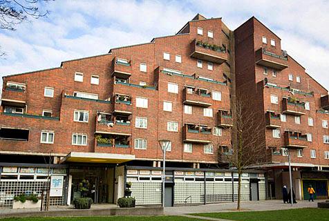 二战后野兽派高楼建筑改变伦敦天际线