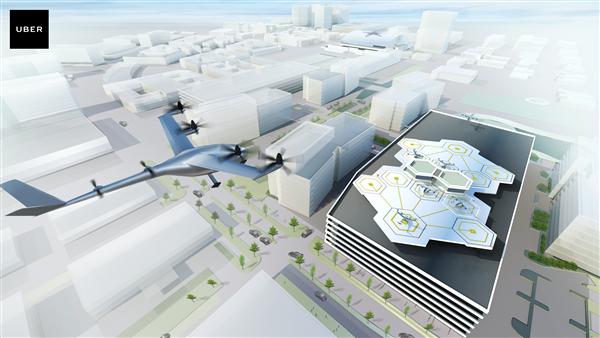 """坐""""飞的""""上班:优步计划2020年推出飞行出租车"""
