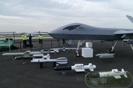 航空工业军贸抢滩拉美 墨西哥总统参观翼龙2