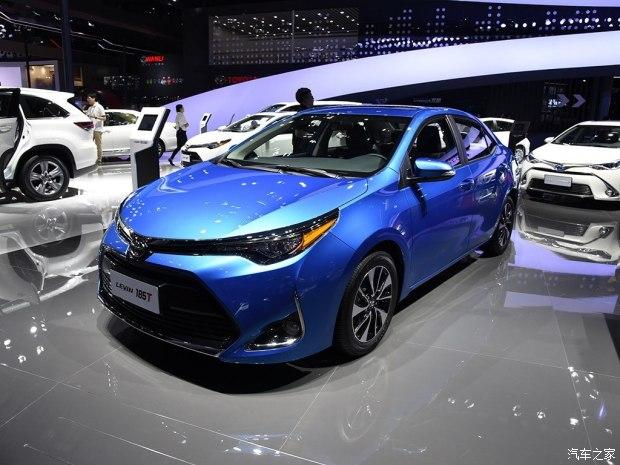 新脸更耐看 广汽丰田新款雷凌将6月上市