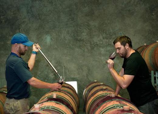 装腔的葡萄酒