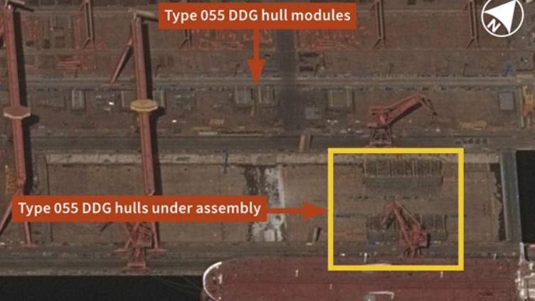 航母下水后又有好消息!055大驱被曝有重大进展