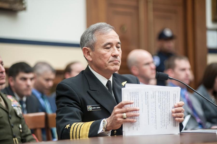 """美上将声称美国会被打败 借""""中国威胁""""要军备"""