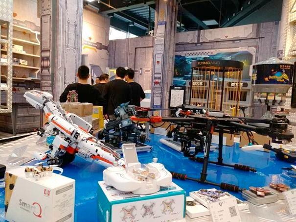 全球首家室内无人机 主题乐园落户上海
