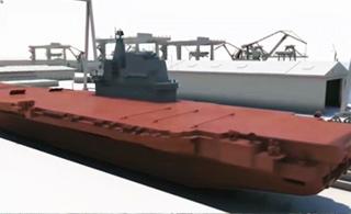 3D动画带你回顾首艘国产航母建造过程