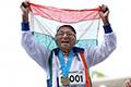 生命在于运动 印度101岁女人百米短跑夺金