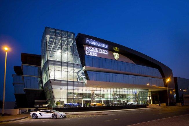 兰博基尼迪拜筹建全球最大经销店 看好中东市场