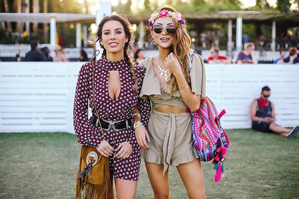 穿不错 | 探秘Coachella 看看仙女们是如何穿衣搭配的