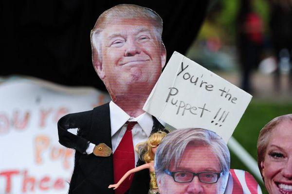 特朗普执政百日 全美各地爆发气候大游行怒怼政府