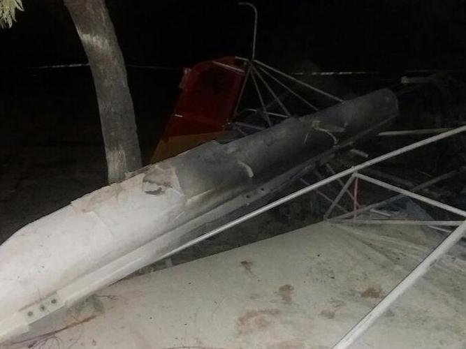 山西一观光飞机失事 1名飞行员和1名乘客遇难