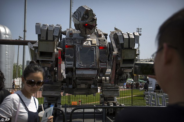 """机器人大厮杀!中国""""大圣号""""有望参战"""