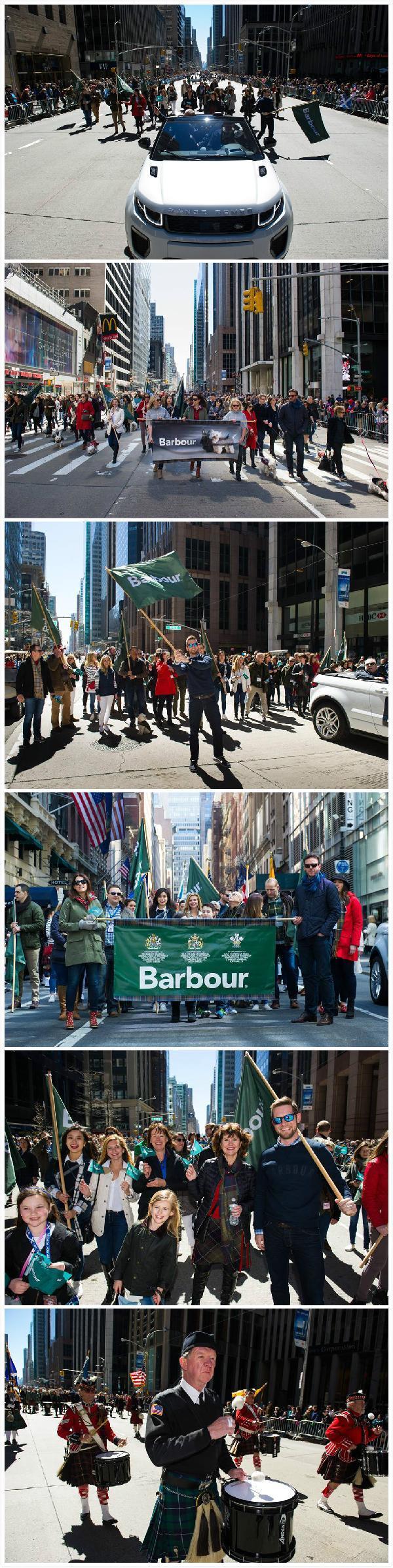 因为爱,所以张扬——Barbour纽约游行记