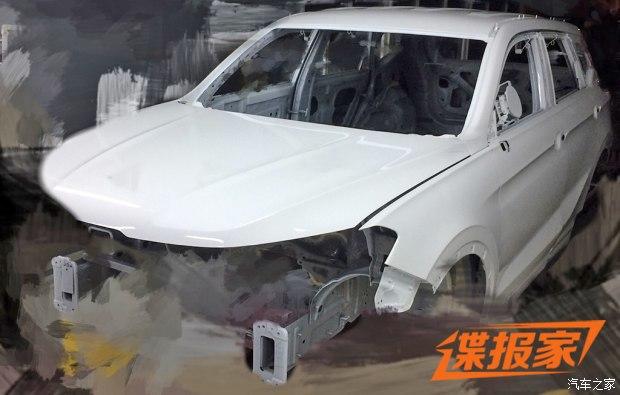 或年内推出 中华全新SUV F60白车身曝光