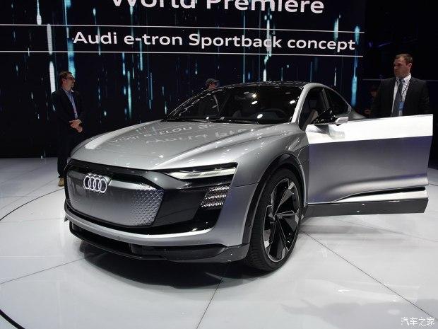 轿跑风格 奥迪2019年推第二款纯电动SUV