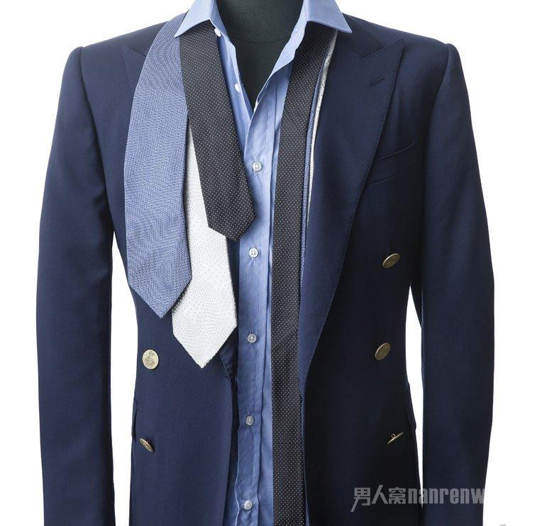 知道领带怎么选择才对嘛