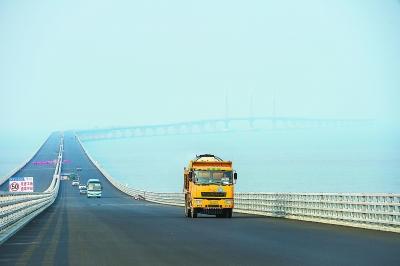 世界最长跨海大桥——港珠澳大桥全线贯通在即