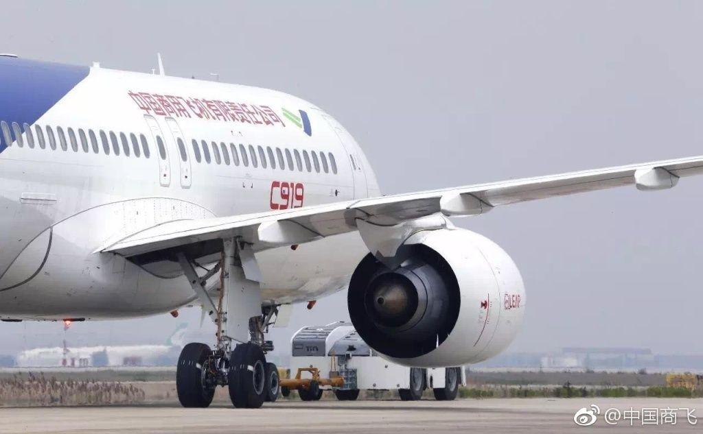最新消息!中国国产大飞机C919计划5月5日首飞