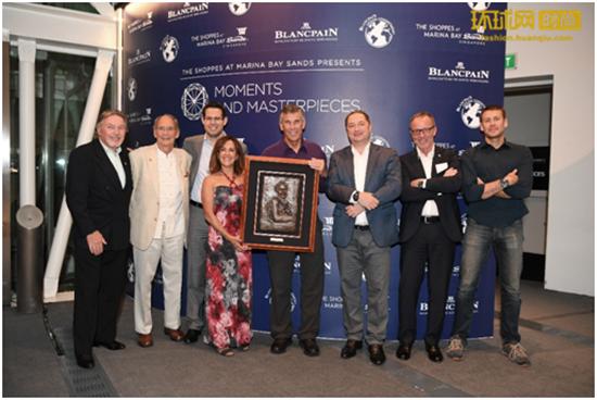 """宝珀Blancpain授予水下IMAX电影制作人霍尔夫妇2016年度""""汉斯•哈斯五十噚大奖"""""""