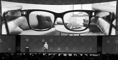 """可在头脑中""""打字""""交流 Facebook押宝AR/VR技术"""