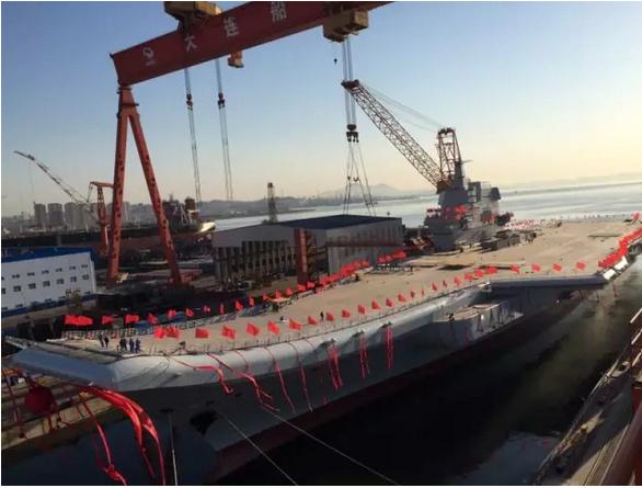 美媒:中国001A难敌美航母 只是造更强航母跳板