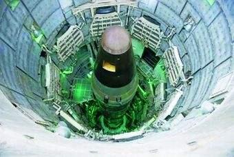 美军一周内二次发射洲际导弹 导弹落入太平洋