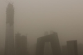 北京發布沙塵藍色預警 能見度明顯下降