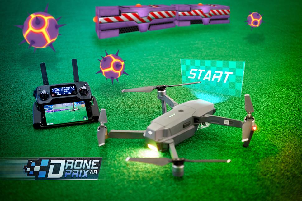 首款AR無人機游戲出爐