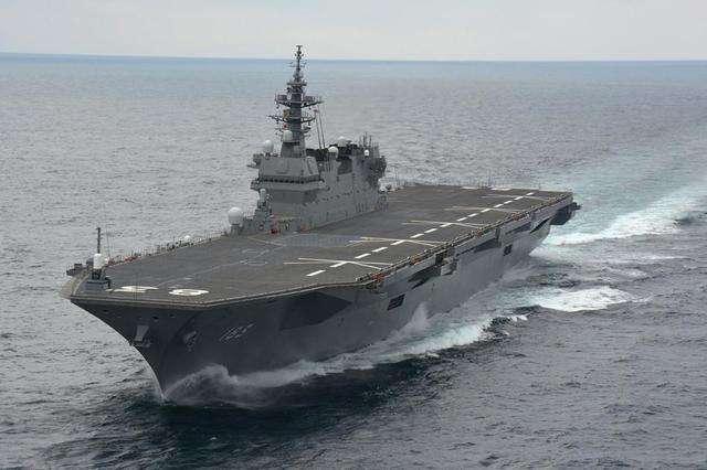 军媒:日本出云号护航美舰 打的是自己的小算盘