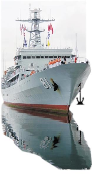 人才摇篮!中国这艘军舰没有高精尖武器却世界闻名