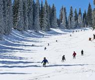 五月的乌鲁木齐 市内穿短袖市郊能滑雪