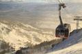 全球最驚險滑雪纜車